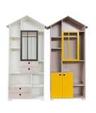 Современные кухонные шкафы Стоковая Фотография