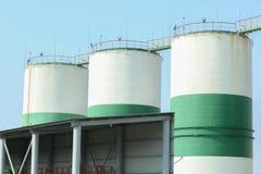 Современные лифты зерна стоковое изображение rf