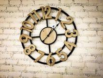 Современные настенные часы Стоковая Фотография RF