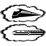Современные локомотивы Стоковые Фото