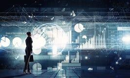 Современные технологии в деле Стоковая Фотография RF