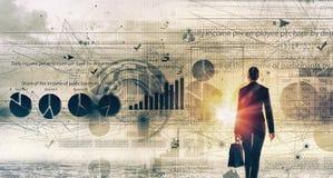 Современные технологии в деле Стоковое Изображение