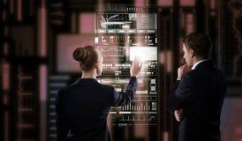 Современные технологии в пользе Стоковое Изображение RF