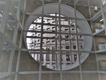 Современные тюрьма или тюрьма офиса изо дня в день стоковые изображения rf