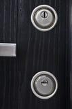 Современные keyholes парадного входа Стоковое Фото