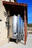 Современные vats вина Стоковые Изображения RF