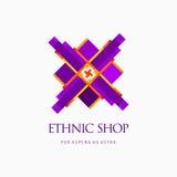 Современный абстрактный дизайн логотипа или элемента Самое лучшее для идентичности и логотипов Стоковая Фотография RF