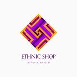 Современный абстрактный дизайн логотипа или элемента Самое лучшее для идентичности и логотипов Стоковая Фотография