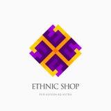 Современный абстрактный дизайн логотипа или элемента Самое лучшее для идентичности и логотипов Стоковое Изображение