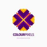 Современный абстрактный дизайн логотипа или элемента Самое лучшее для идентичности и логотипов Стоковое фото RF