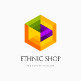 Современный абстрактный дизайн логотипа или элемента Самое лучшее для идентичности и логотипов Стоковые Изображения