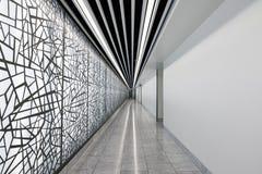 Современный абстрактный коридор стиля стоковая фотография rf
