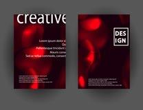 Современный абстрактный красочный состав форм жидкости для дизайна плаката Минимальные крышки brigth установили для рогульки, кры Бесплатная Иллюстрация