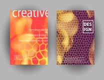Современный абстрактный красочный состав форм жидкости для дизайна плаката Минимальные крышки brigth установили для рогульки, кры Иллюстрация вектора