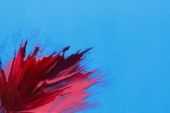 Современный абстракционизм Покрасьте выплеск, holi фестиваля Стоковое фото RF
