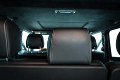 Современный автомобиль внутрь Стоковое Изображение