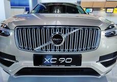 Современный автомобиль XC90 стоковая фотография