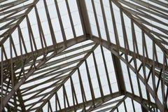 Современный архитектурный дизайн вокзала Стоковая Фотография RF
