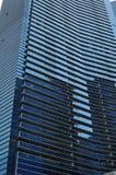 Современный архитектурный дизайн в здании подъема Сингапура высоком финансового и финансового района стоковые фотографии rf