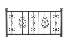 Современный барьер, перила, загородка стоковая фотография rf