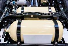 Современный бензобак Стоковое фото RF