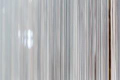 Современный белый занавес Стоковое Изображение RF
