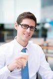 Современный бизнесмен стоковая фотография