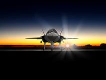 Современный боец скрытности F-35 Стоковая Фотография RF