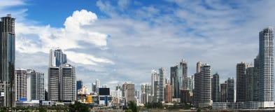 Современный вид на город стоковое изображение