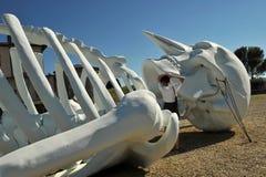 Современный, выставка современного искусства в Флоренсе, Италии Стоковое фото RF