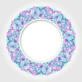 Современный геометрический дизайн конспекта кругов Стоковые Фотографии RF