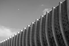 Современный геометрический фасад стоковая фотография