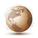 Современный глобус Стоковая Фотография