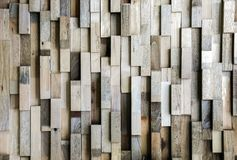 современный деревянный блок Стоковая Фотография