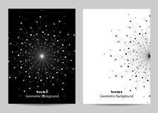 Современный дизайн крышки брошюры Стоковое Изображение