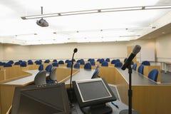Современный лекционный зал Стоковое Изображение