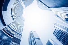 Современный деловый центр стоковое изображение rf