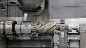 Современный завод по обработке металла Робототехническая обработка металла сток-видео