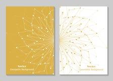 Современный дизайн крышки брошюры Стоковое фото RF