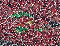 Современный дизайн клетчатого мира Стоковое фото RF