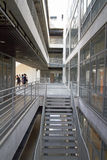 Современный дизайн школы архитектуры Стоковая Фотография RF