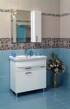 Современный интерьер ванной комнаты Стоковое Фото