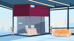 Современный интерьер зала ожидания здания приемной офиса лобби Стоковые Фотографии RF