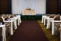 современный интерьер конференц-зала с стульями конференц-зал с e Стоковое Фото