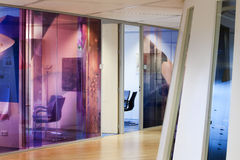 Современный интерьер офиса Стоковое Фото