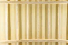 Современный интерьер потолка с дизайном Teakwood Стоковые Изображения RF