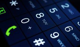 Современный дисплей smartphone Стоковое Изображение