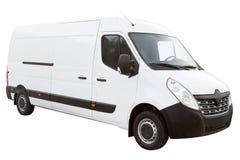 Современный компактный фургон Стоковые Изображения