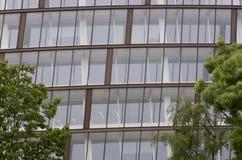 Современный конец-вверх офисного здания, Лондон, Европа Стоковое Изображение RF