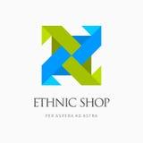 Современный красочный абстрактный элемент логотипа дизайна значка вектора Самое лучшее для идентичности и логотипов Стоковое фото RF